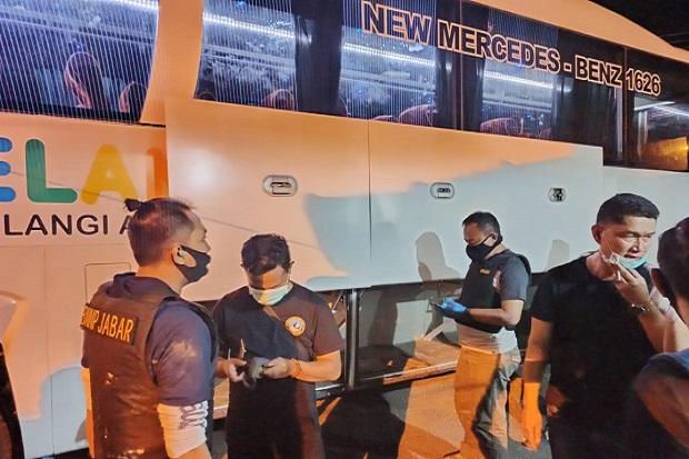 Begini Kronologi Pengungkapan 13 Kg Sabu dalam Bus Pelangi di Tasikmalaya