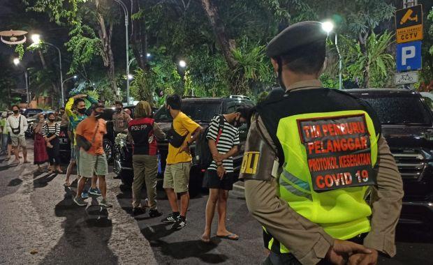 Total Denda Dua Hari Razia Masker di Jawa Timur Capai Rp63,8 Juta