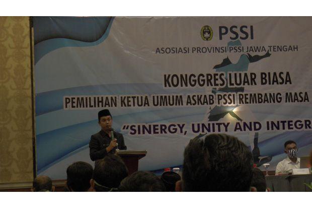 Harus Isolasi Mandiri, Ketua PSSI Rembang Terpilih Tak Hadiri Kongres