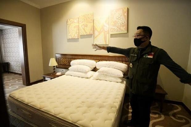 Hotel di Zona Merah Jabar Jadi Pusat Isolasi Pasien COVID-19