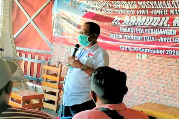Sudah Daftar Wawali Surabaya, Lah Kok Armuji Masih Ikut Reses DPRD?