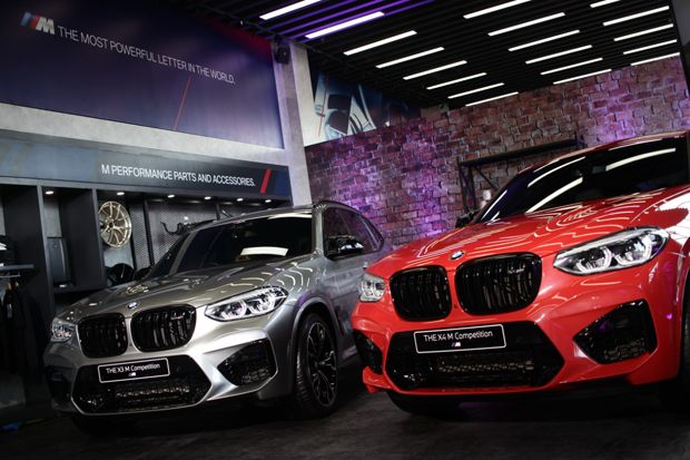 BMW X3 M Competition BMW X4 M Competition Goda Warga Surabaya