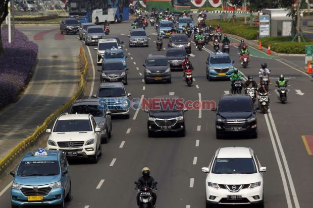 Sepekan PSBB Diterapkan, Volume Kendaraan di Jakarta Menurun 20%
