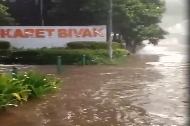 Anies Perkirakan Banjir Jakarta Datang Pukul 02.00 WIB