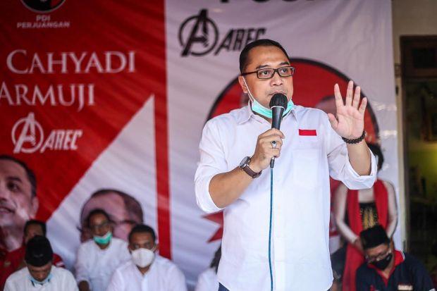 Resmikan Markas Relawan, Eri Cahyadi Ingin Posko Pemenangan Jalankan Fungsi Ini