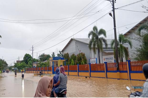Banjir dan Tanah Longsor Landa Enam Kecamatan di Kabupaten Aceh Barat Daya