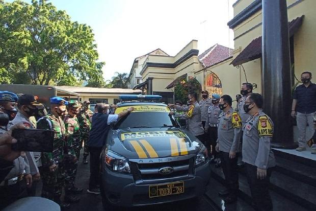 Naik Mobile COVID Hunter, Aparat Buru Pelanggar Protokol Kesehatan di Bandung