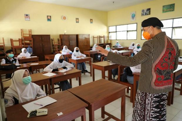 Sekolah Tatap Muka di Jateng Berjalan 2 Minggu, Ini Hasil Evaluasinya