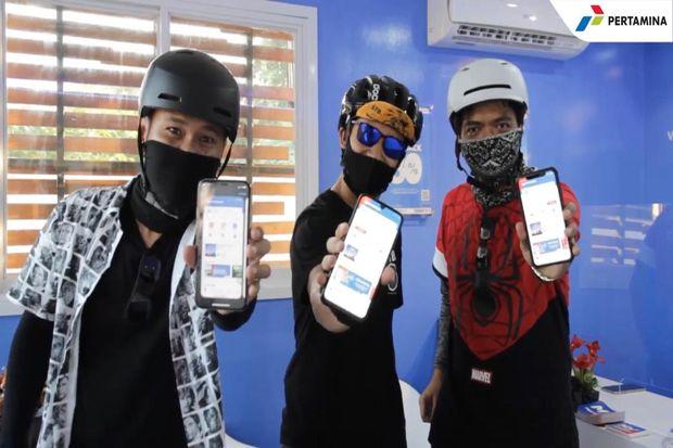 Pembayaran Non Tunai MyPertamina di SPBU Jateng-DIY Meningkat 800%