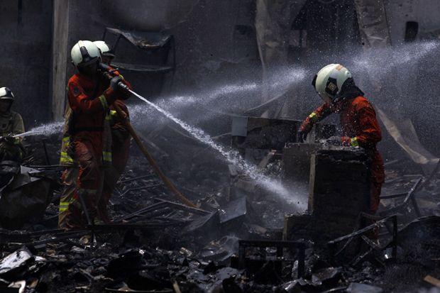 Jakarta Timur Kekurangan Personel Pemadam Kebakaran