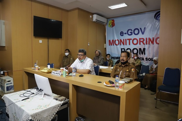 Wakil Wali Kota Solok Ikuti Vicon Persi Sumatera Barat