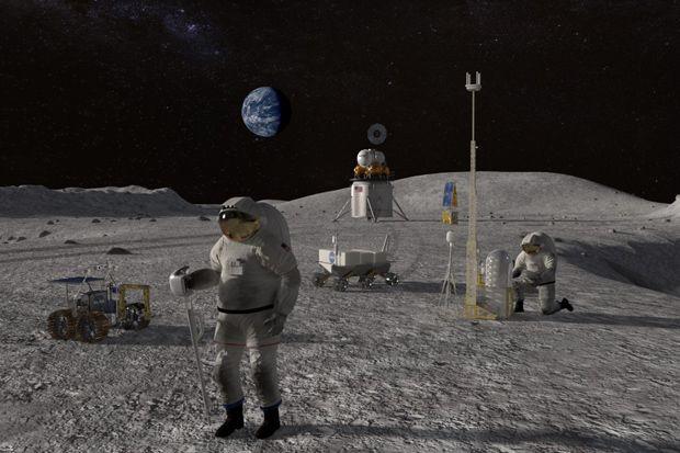 NASA Siapkan Duit Rp415 Triliun untuk Misi Mengacak-acak Bulan