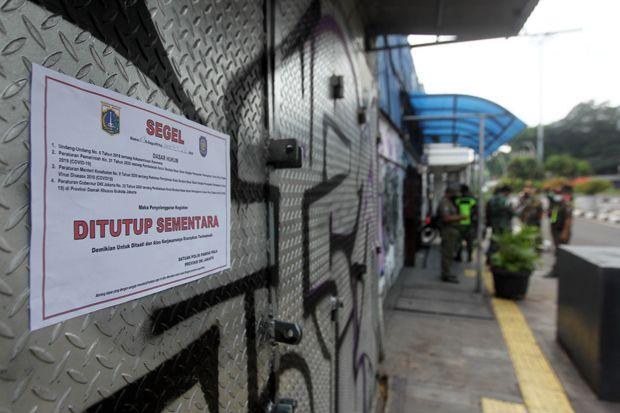 2 Pekan PSBB Jakarta, Pelanggaran Prokes Covid-19 di Perkantoran Tak Menurun
