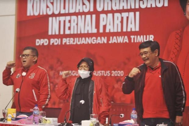 Bappilu PDIP Surabaya: Risma Juru Kampanye Eri Cahyadi-Armuji