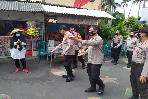 Cegah Penyebaran COVID-19, Binmas Polres Jakpus Gelar Operasi Bina Kusuma