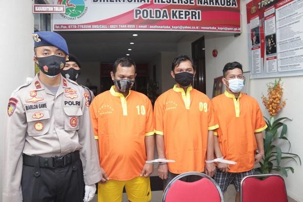 Polda Kepri Musnahkan 5,6 Kg Sabu Hasil Penindakan Dua Kasus