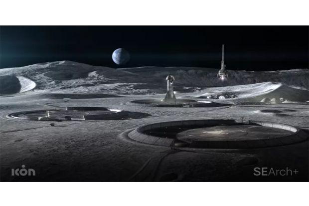 AS Serius Eksplorasi Bulan, Ini Gambar 3D Kompleks Perumahannya