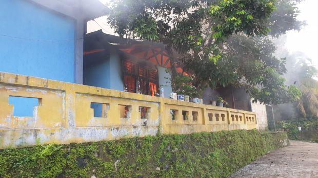 Kota Sorong Kembali Membara, Empat Rumah Dibakar Massa