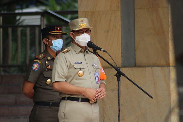 Anies Targetkan Halte Sementara Transjakarta Beroperasi Lusa