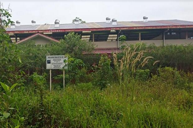 Miris, Kondisi Pasar di PALI yang Dibangun dengan Miliaran Rupiah Terbengkalai
