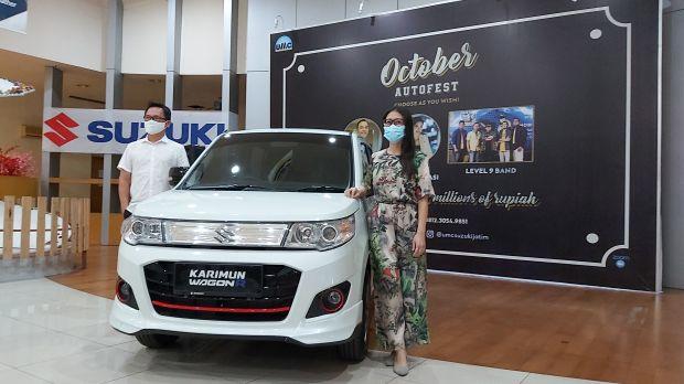 Mengaspal di Jatim, Ini Harga Suzuki Karimun Wagon R 50th Anniversary Edition