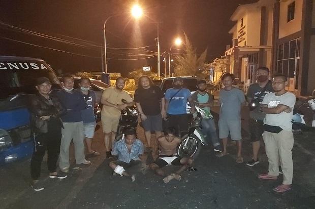 Mau Ditangkap Melawan dengan Pisau, Begal Keok Dipelor Polisi