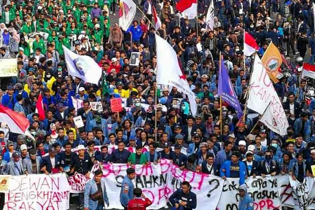 8.000 Personel Gabungan Siap Amankan Aksi Aliansi BEM Se-Indonesia