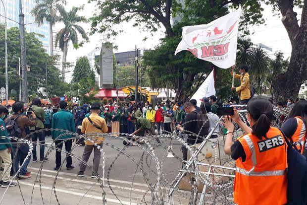 Demo Hari Ini di Patung Kuda Ada Dua Kelompok, Polisi: Mereka Tidak Mau Digabung