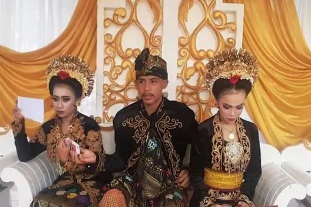 Pejantan Tangguh, Pelajar SMK di Lombok Barat Nikahi 2 Siswi Sekaligus
