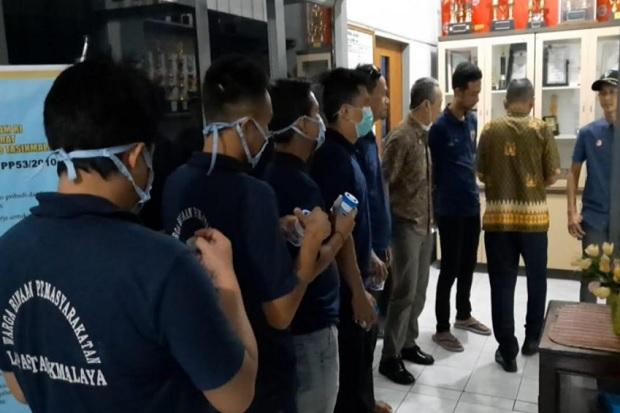 Razia Mendadak, 30 Napi Lapas Tasikmalaya Dites Urine