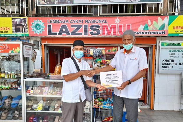 1.000 Masjid Terima Bantuan Operasional dari Lazismu dan BPKH Yogyakarta