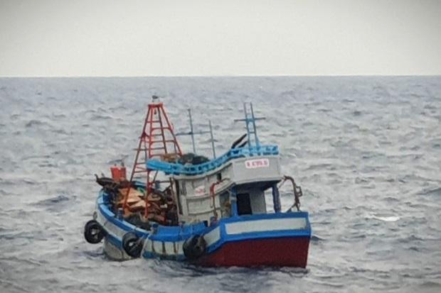 Diduga Mencuri Ikan di Laut Natuna Utara, TNI AL Tangkap Dua Kapal Ikan Berbendera Vietnam