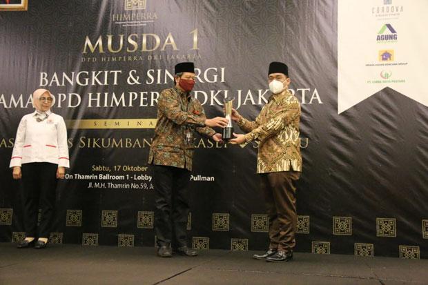 Hadiri Musda Himperra, Wagub DKI Singgung Soal Hunian Layak dan Terjangkau
