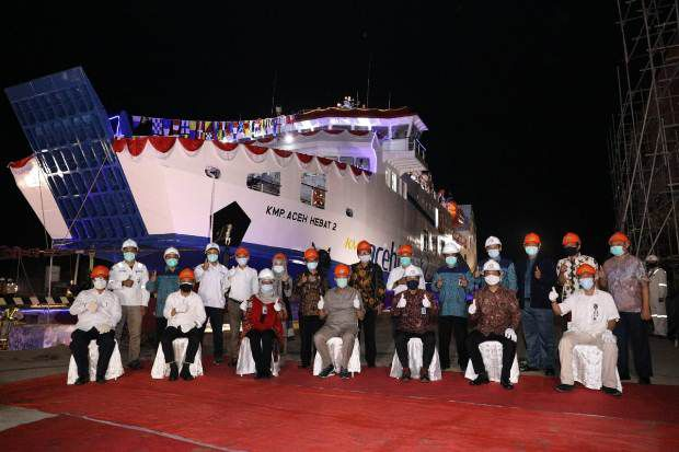 Pembangkit Pariwisata Sabang, KMP. Aceh Hebat 2 akan Hadir di Lintasan Ulee Lheue - Balohan