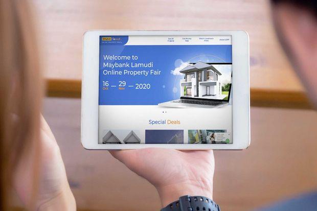 Maybank dan Lamudi Online Gelar Property Fair
