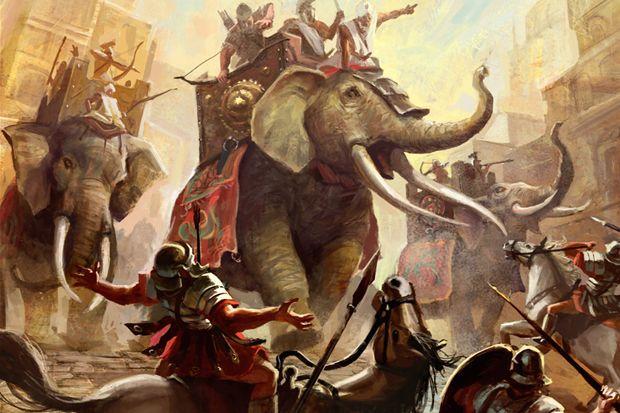 Perang Pecah, Pasukan Gajah Ngamuk di Tengah Ramalan Buruk tentang Persia