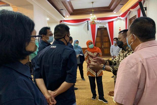 AMSI Jawa Timur akan Gelar Konferwil, Ini Harapan Gubernur Khofifah