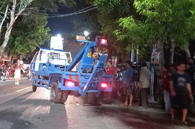 3 Kendaraan Tabrakan Beruntun di Jalan Raya Yogya-Wonosari, 1 Tewas