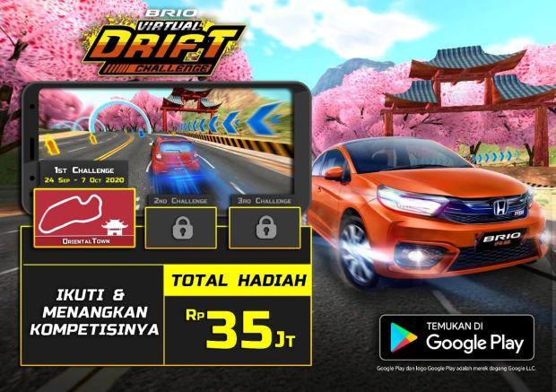 HPM Umumkan Jawara Brio Virtual Drift Challenge Edisi Perdana