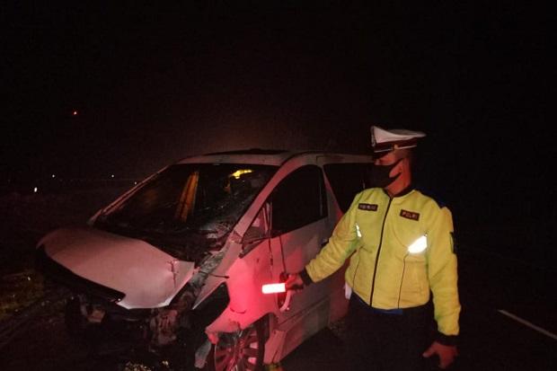 Kendaraan Mewahnya Hancur, Hanafi Rais Belum Bisa Dimintai Keterangan