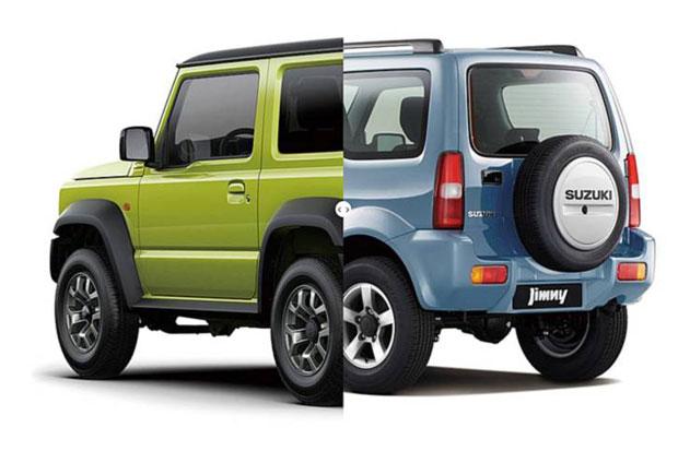 Suzuki Jimny Lima Pintu Mulai Ugal-Ugalan di Jalan