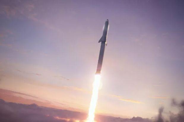 Ellon Musk Ungkap SpaceX Sudah Siapkan Starship Rute Bumi - Planet Mars PP