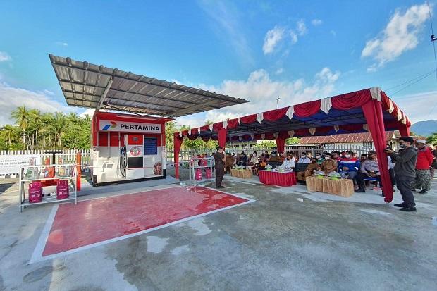 32 Desa di Sulawesi Nikmati Pertashop, Harga BBM Setara SPBU