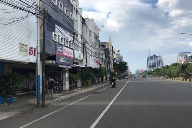 Cegah Kerusuhan saat Aksi Demo, Jalan Gajah Mada - Hayam Wuruk Resmi Ditutup
