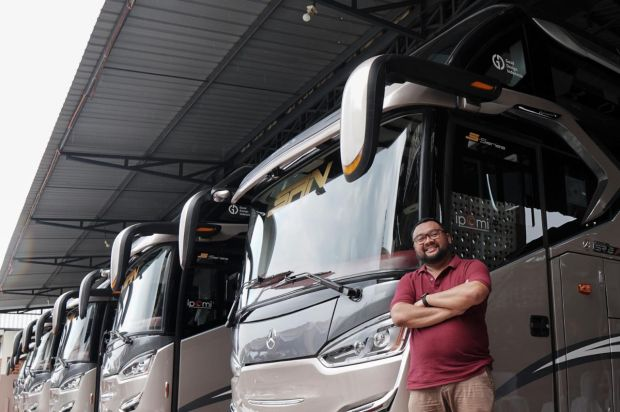 Gandeng IPOMI, Mobil Lubricants Berikan Safety Kit untuk Bus AKAP