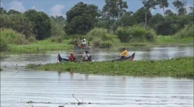 Mandi di Sungai, Nelayan Labura Ditelan Buaya Ganas