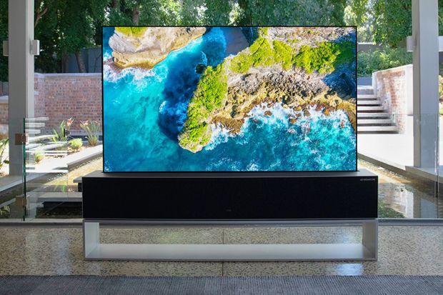 LG Mulai Jualan TV dengan Layar Bisa Digulung Seharga Rp1,3 Miliar
