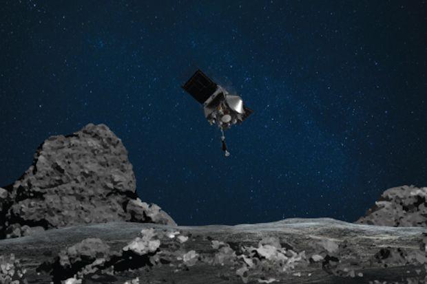 Habiskan Rp12 Triliun, OSIRIS-REx NASA Sukses Ambi