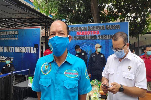 BNN: Peredaran Narkoba Selama Pandemi Gunakan Jasa Pos dan Ekspedisi