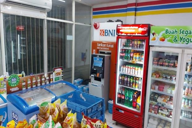 Mesin ATM Dalam Minimarket di Bandung Dibobol Maling, Uang Jutaan Raib
